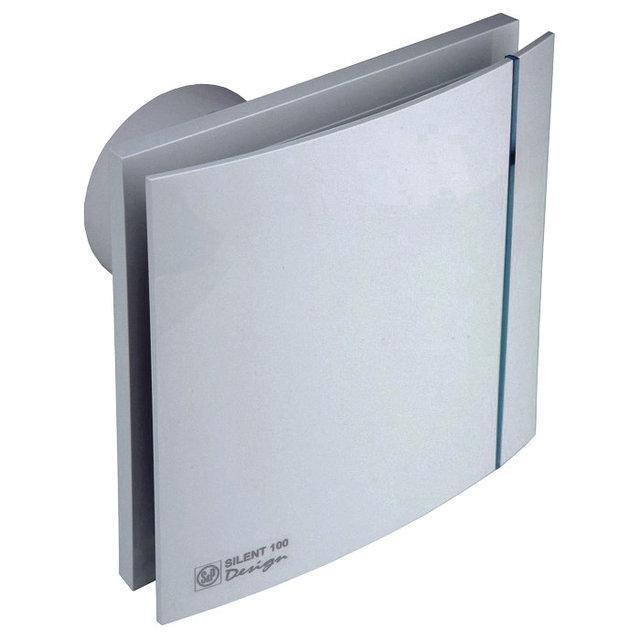 Осевой вытяжной вентилятор Soler&Palau SILENT-100 CRZ DESIGN (230V 50), фото 1