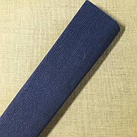 Гофрированная бумага темно-синяя Польша, фото 1