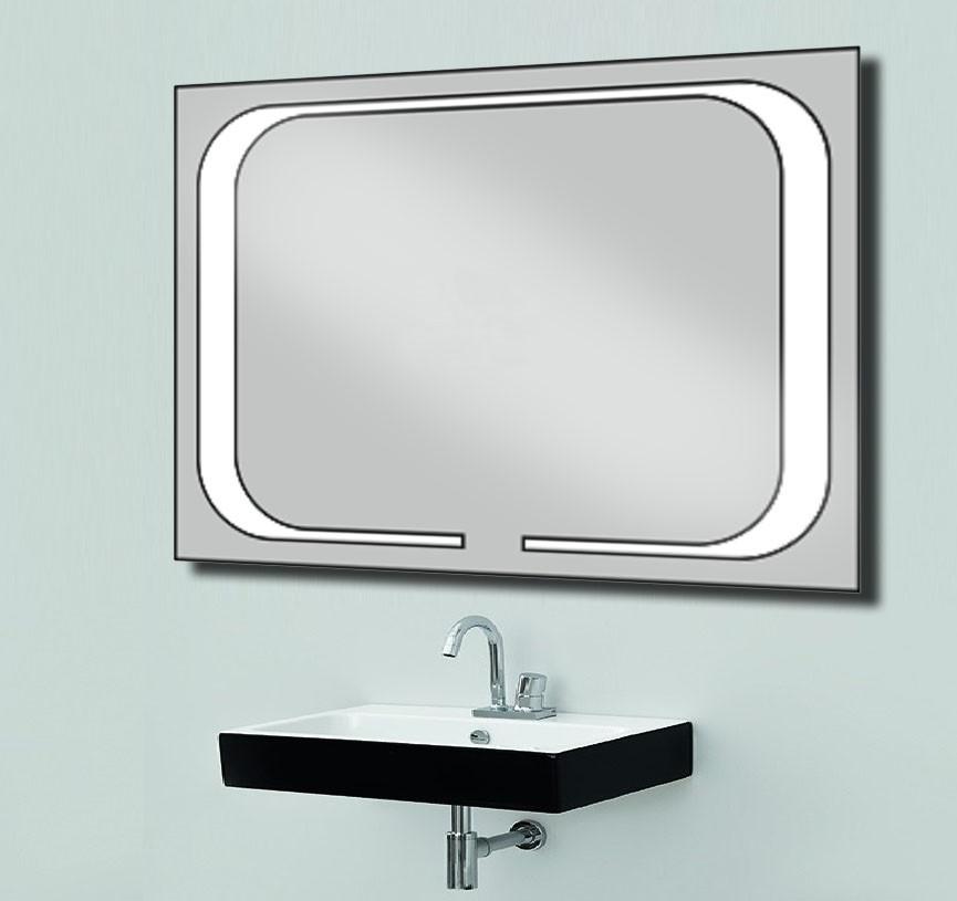 Дзеркало зі світлодіодним підсвічуванням 800х600