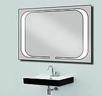 Зеркало со светодиодной подсветкой 800х600