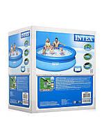 Надувной наливной бассейн с фильрнасосом INTEX EASY SET 28122 (305 x 76 см), фото 1