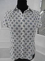 Блуза женская летняя шелк большого размера