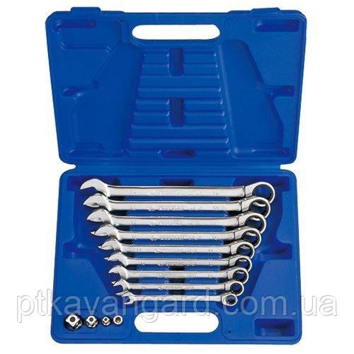 Набор ключей рожково-накидных с трещоткой 13шт. 8-19мм King Tony 13113MR
