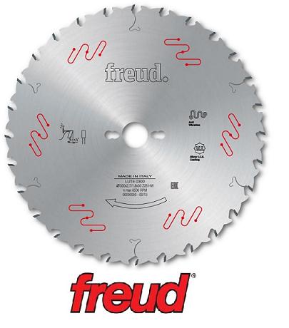 Пильний диск для поздовжнього пиляння деревини тонкий пропил D = 300 мм (Freud, Італія)