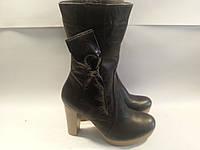 Ботинки женские зимние натуральная кожа р39 BONITA 213 черные TONI