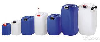 Пластиковые емкости (канистры) до 50 л