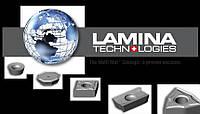 Твердосплавные пластины металлорежущие, токарные пластины Lamina (Швейцария)