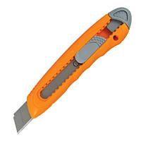 Нож канцелярский маленький Axent 6401, лезвие 9 мм, оранжевый