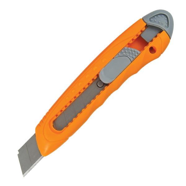 Нож канцелярский Axent 6402, лезвие 18 мм, оранжевый