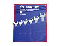 Набор комбинированных ключей (34-50 мм) 6шт. King Tony 1296MRN