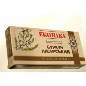 При туберкулезе, герпесе, стенокардии - Свечи с донником - Салюс-экологически чистые продукты, натуральная косметика  в Одессе