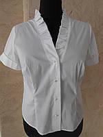 Блуза женская белая большого размера