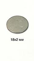 Магнит сумочный (неодимовый).D18x2mm