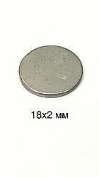 Магнит сумочный  неодимовый D18x2mm