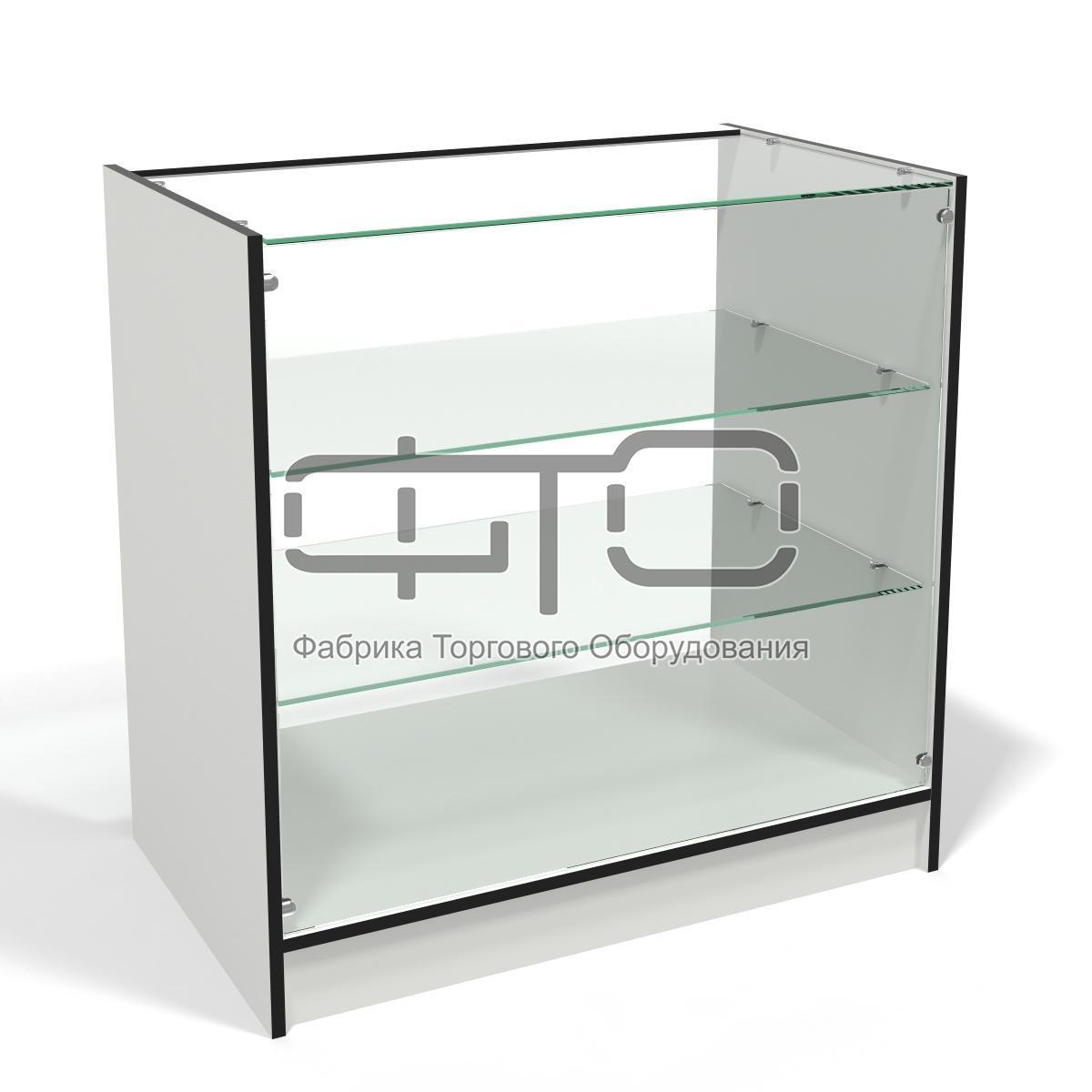 Прилавок №4 демонстраційний з склінням