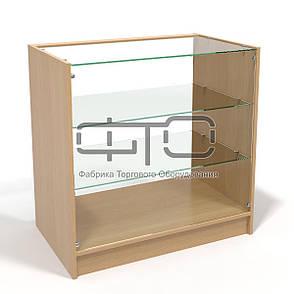 Прилавок №4 демонстраційний з склінням, фото 2