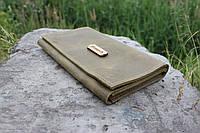 Кожаный кошелёк ручной работы Бук