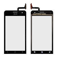 Тачскрин (сенсор) для Asus ZenFone 5 Lite (A502CG) (black) Original