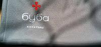 Плед с вышивкой логотипа