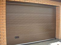 Монтаж секционных ворот в Полтаве, фото 1