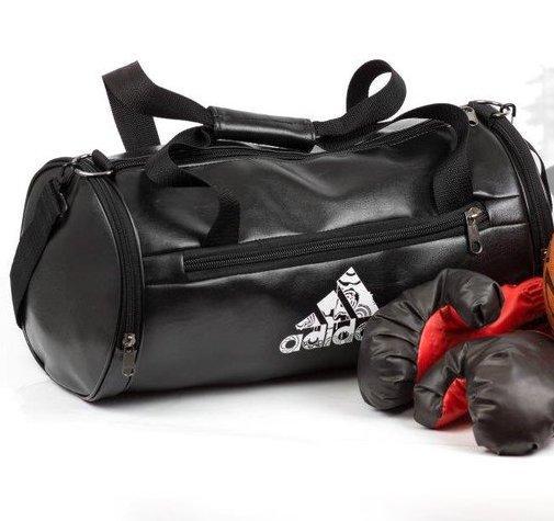 cb78d3636474 Мужская спортивная кожаная PU сумка в стиле Adidas бочка - Планета здоровья  интернет-магазин в