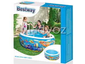 Детский надувной бассейн на 400 литров Bestway 51121, фото 2