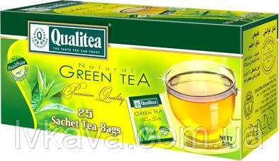 Чай зелений Qualitea, 25 пак, фото 2