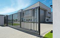 Монтаж секционных ворот в Запорожье, фото 1