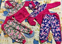 Костюм Цветы двухнитка для девочек