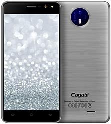 """Cagabi One Silver 1/8 Gb, 5"""", MT6580A, 3G"""