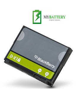 Оригинальный аккумулятор АКБ батарея BlackBerry D-X1 для BlackBerry Curve 8900 Storm 9500 9530 Tour 9630