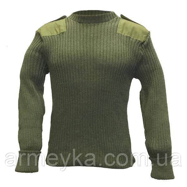 Шерстянные свитера Британские ВС (олива), оригинал.