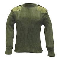 Шерстянной свитер, олива. НОВЫЙ. Британские ВС оригинал