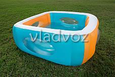 Детский надувной бассейн с окошками Bestway 51132, фото 2