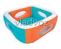 Детский надувной бассейн с окошками Bestway 51132
