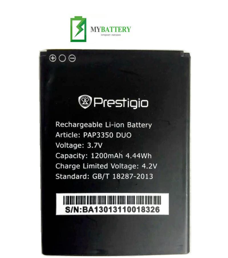 Оригинальный аккумулятор АКБ батарея Prestigio PAP5500