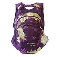 Школьный рюкзак для девочки в расцветках