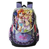 Стильный школьный рюкзак для девочки в расцветках