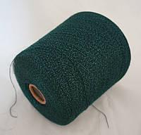 Меринос с люрексом Botto Poala  art Mystik1400 м изумрудно-зеленый
