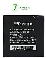 Оригинальный аккумулятор АКБ батарея Prestigio PAP5000