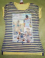 Модная туника с коротким рукавом для девочки подростка 146-164