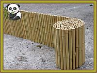 Забор бамбуковый декоративный, 300х30 см