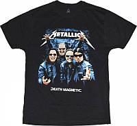 Рок футболка Metallica. Death magnetic (фото группы)