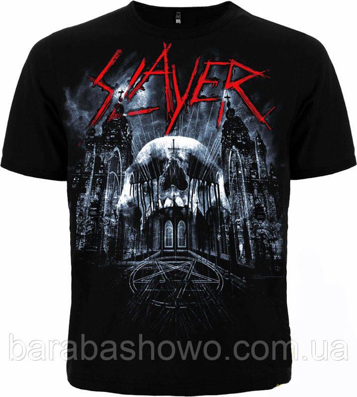 Рок футболка Slayer. Not Of This God