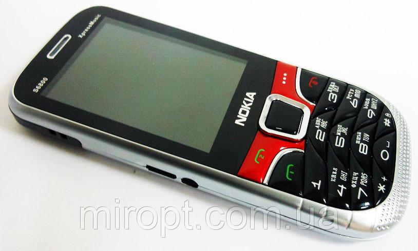 "Телефон Nokia S6800 - 2Sim + Металл+2,4""+Camera+BT+FM"