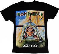 Рок футболка Iron Maiden. Aces High