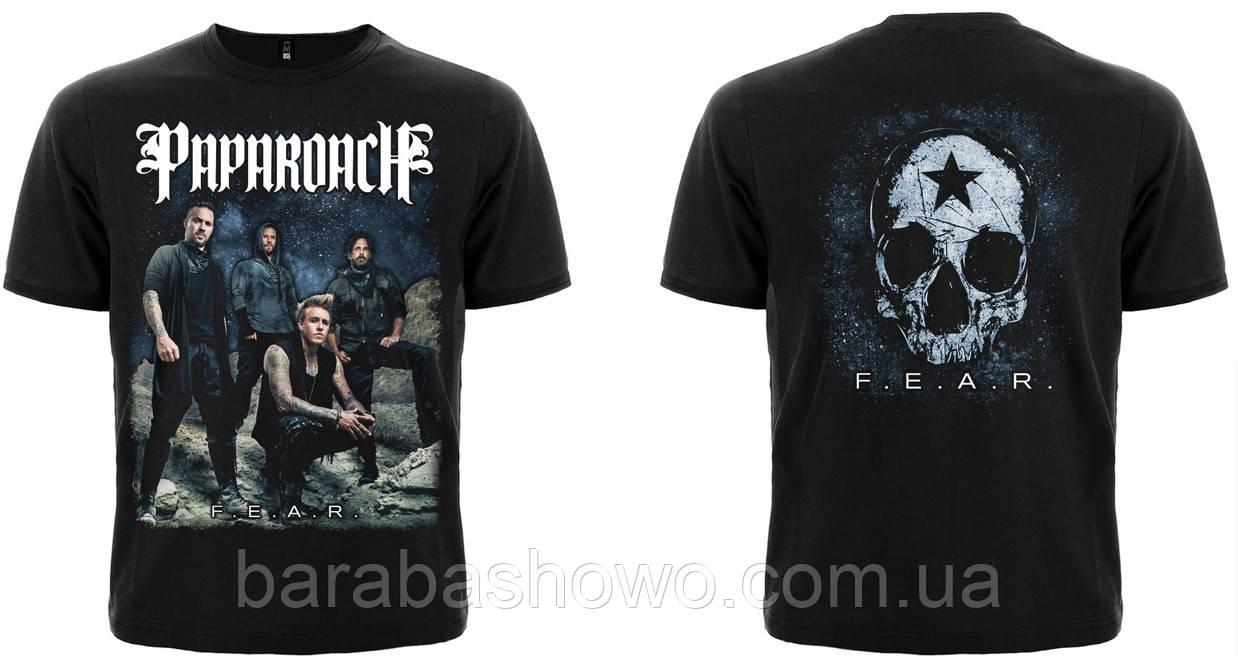 """Рок футболка Papa Roach """"F.E.A.R."""""""