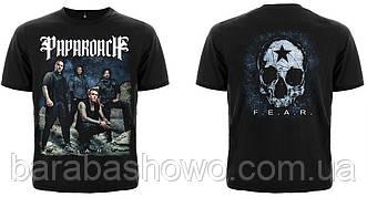 """Рок футболка Papa Roach """"F. E. A. R."""""""