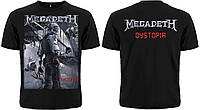 "Рок футболка Megadeth ""Dystopia"""