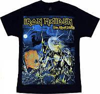 Рок футболка Iron Maiden. Live After Death